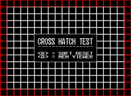 The UNIVERSE BIOS Cross Hatch Test