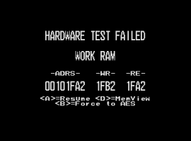 The UNIVERSE BIOS Hardware Error