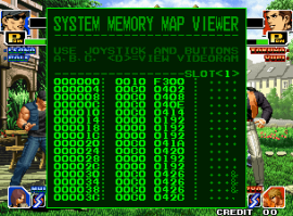 The UNIVERSE BIOS System RAM Viewer